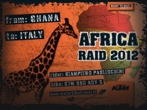 Raid Africa 2012: From Ghana To Italy